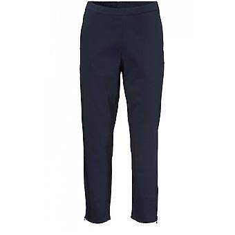 Masai Clothing Padme Navy Cropped Trousers