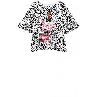 Desigual Ruffle Sleeve T-Shirt