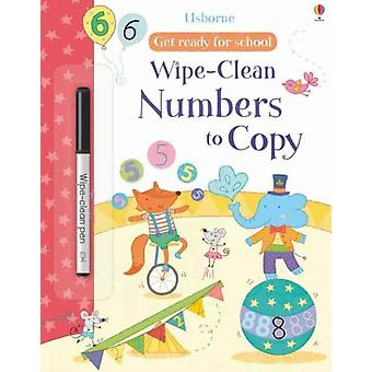 Get Ready For School WipeClean Numbers to Copy by Hannah Watson