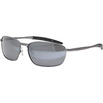 Bloc Eyewear Pluto Matt Gun Sunglasses (S11Grey Polarised/Cat 3 Lens)
