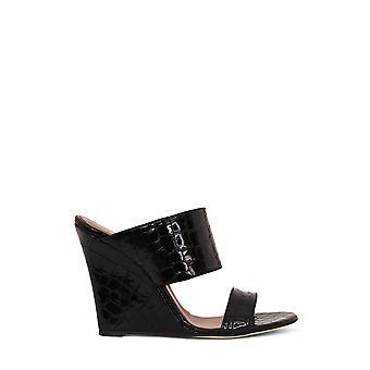 Paris Texas Px161xclm2 Women's Black Leather Sandals