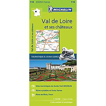 Chateaux of the Loire - Zoom Map 116 - Map - 9782067209848 Book