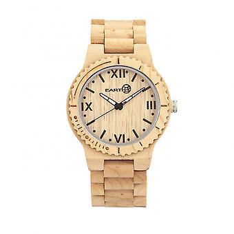 Reloj de pulsera de madera Borrego - caqui/Tan de la tierra