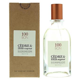 100Bon Cedre & Iris Soyeux Eau de Parfum Spray 50ml Natural Ingredients
