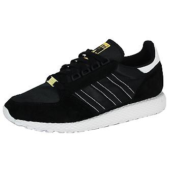 Adidas forest grove men's core black trainers