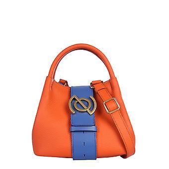 Zanellato 6415pmzb Women's Orange Leather Handtas