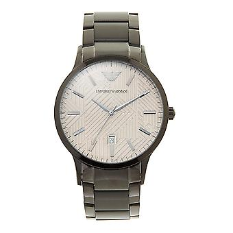 Armani Watches Ar11120 Gunmetal Grey Stainless Steel Men's Watch