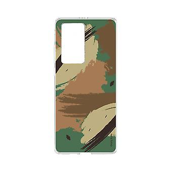 Hull For Huawei P40 Pro Soft Camouflage