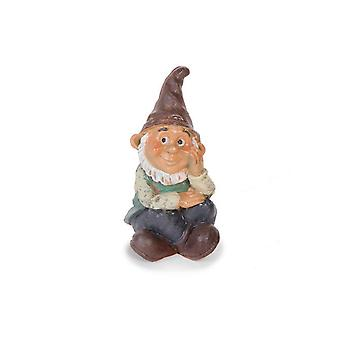 7cm Resin Daydreaming Gnome Character for Miniature Garden Crafts
