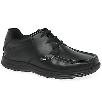 Chaussures kickers Reasan école de garçons de lacet Junior