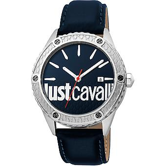 Just Cavalli Young Watch JC1G080L0035 - Leather Gents Quartz Analogue