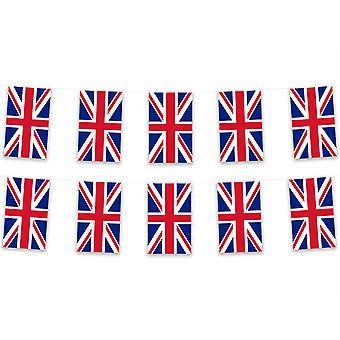Pack of 3 Union Jack Bunting 15m Great Britain Polyester Country National