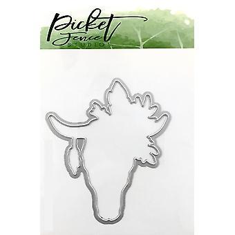 Picket Fence Studios Boho Bull Die