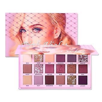 Ögonskugga Palett Makeup Färger Vattentät Pigment