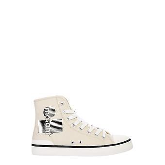 Isabel Marant Bk019020a005s20ck Women's White Fabric Hi Top Sneakers