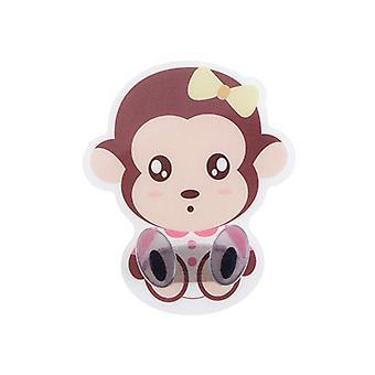 Cartoon Monkey Shape Household Seamless Plug Hook