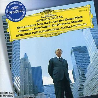 Kubelik/Berlin Philharmonic Orch. - Dvor K: Symphonien Nos. 8 & 9 From the New World [CD] USA import