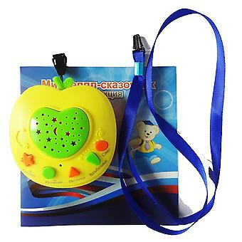 Russian Apple Story Teller With Led Light Projection Russia Baby  Learning Machines Children Educational  Toy