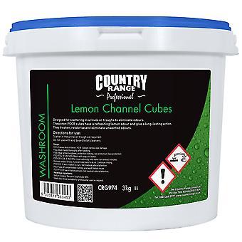 Country Range Lemon Channel Cubes