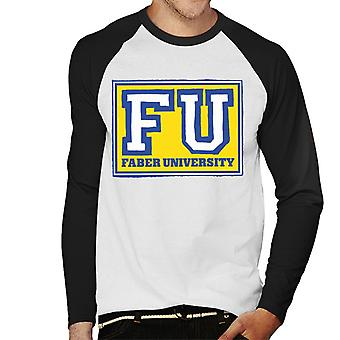 Animal House Faber University Men's Baseball Long Sleeved T-Shirt