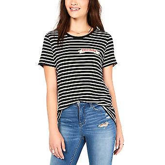 Carbon Copy | Striped Patch T-Shirt