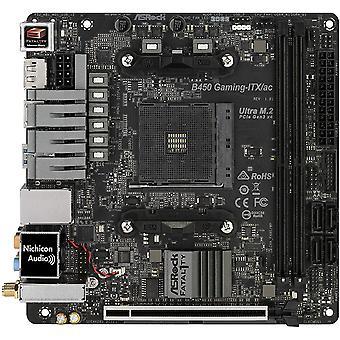アスロック 致命的 B450 ゲーム ITX/ac AMD ソケット AM4 HDMI/ディスプレイポート DDR4 USB C 3.1 Gen2 マザーボード