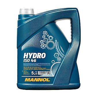 Mannol 5 L Hydro Industrial Hydraulic Oil ISO 46