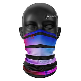 Fading Lines Colours Snood Face Mask Scarf Neckerchief Head Covering Tube Buff