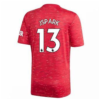 2020-2021 Man Utd Adidas Home Fußball Shirt (J.S.PARK 13)