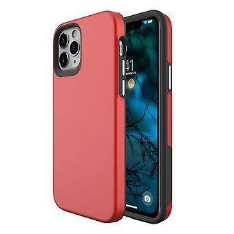 Für iPhone 12 Pro Max Case, stoßfeste Schutzhülle Rot