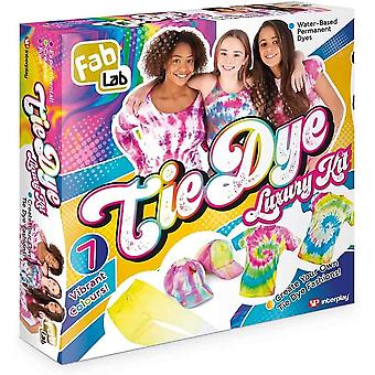 Fab lab - deluxe Tie dye kit - 7 colors, for children age 8 years and up