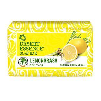 Desert Essence Lemongrass Bar Soap, 5 Oz