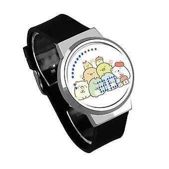 Impermeable Luminoso LED Digital Touch Reloj de niños - Sumikkogurashi #48