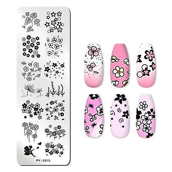 Halloween, Pumpkin, Flowers, Animal, Tropical, Geometry Pattern Nail Stamping