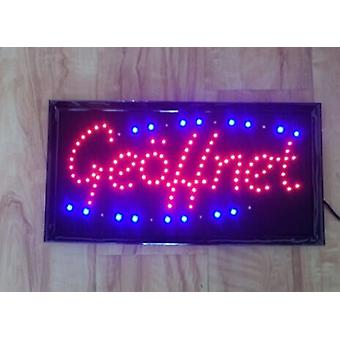 "Led Signs, Luminous Signs, ""on"" Advertising Candlesticks, Advertising Signs, Advertising Signs"