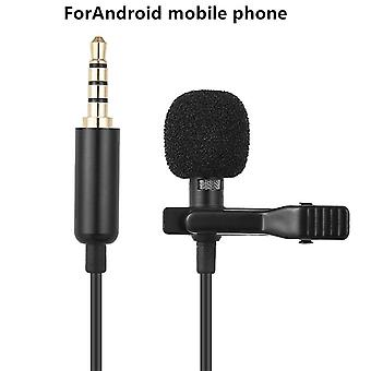 Mini Usb Microphone Lapel Lavalier Pc / Phone / Camera Mic Portable External Buttonhole For Iphone Laptop Computer