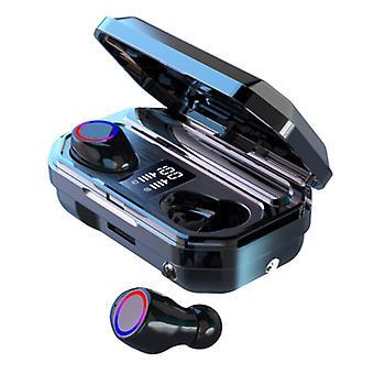 Kuge TWS Wireless Earphones - 2200mAh Powerbank Smart Touch Control Bluetooth 5.0 Ear Wireless Buds Earphones Earbuds