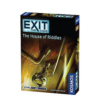 Exit the Game House of Riddles Card Game