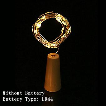 Warm Copper Wire Led String Lights Christmas Decorations -garland Bottle Stopper For Glass Craft New Year Set 3
