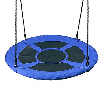 Hanging Chair 1m 40inch Outdoor Kids Playground Swing Set- Saucer Rotate Tree