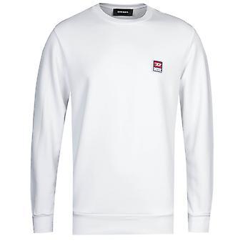 Diesel S-GIR Felpa White Sweatshirt