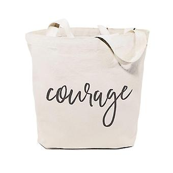 Courage-cotton Canvas Tote Bag