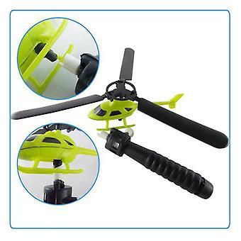 Elicopter în aer liber jucărie - elicopter jucărie, trage string mâner elicopter