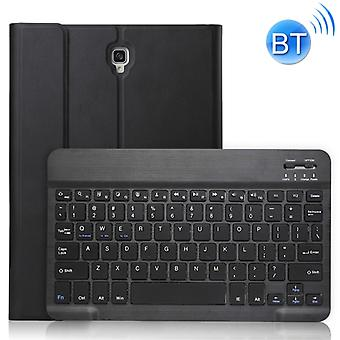 A590 Ultra-thin Detachable Magnetic Bluetooth Keyboard Leather Case for Galaxy Tab A 10.5 T590 / T595, with Holder(Black)