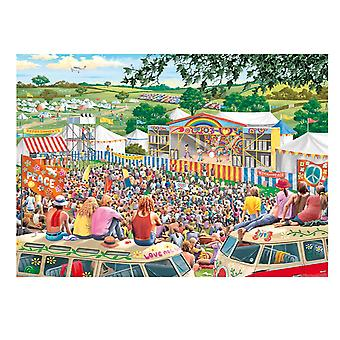 Falcon de luxe Jigsaw Puzzle 1000 pieces Summer Music Festival