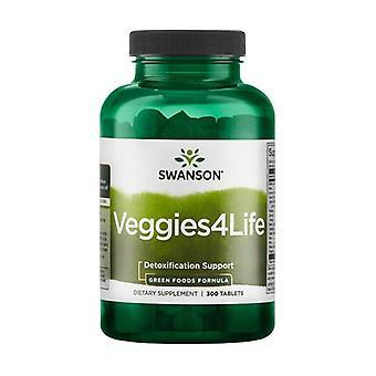 Zielone pokarmy formuły veggies4life 300 tabletek