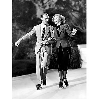 Shall We Dance Fred Astaire Ginger Rogers 1937 Photo Print