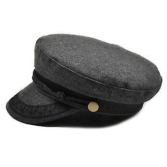 Chapeau militaire Chapeaux d'hiver Dames Chapeau militaire Cap