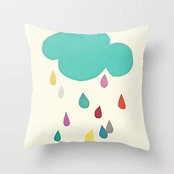 Sunshine And Showers Cushion/pillow Cover