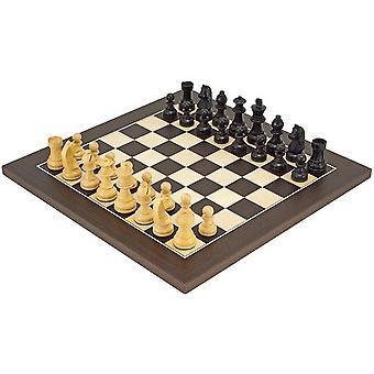 Alas Head Classic wenge Deluxe Chess Set